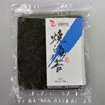 Senetsu Roasted Seaweed-Asia Food-壽司燒紫菜 YakiNori (50 Sheets)