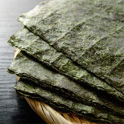 Waraku Roasted Seaweed Full Size For nori sushi (50 Sheets)
